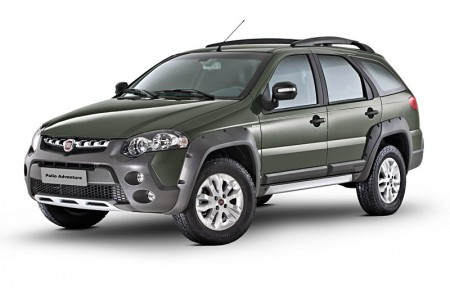 Fiat Palio Weekend Adventure 2013