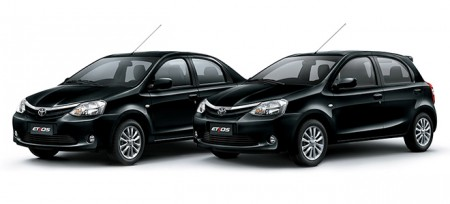 Toyota Etios Negro