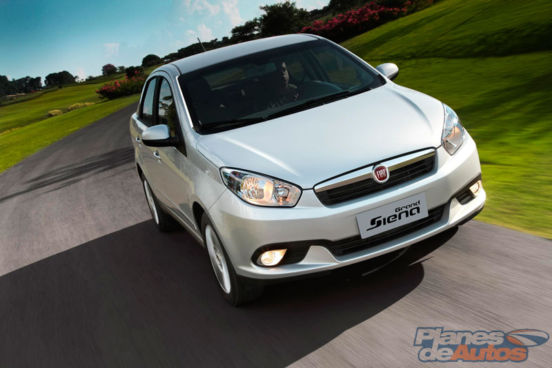 Faros Fiat Grand Siena